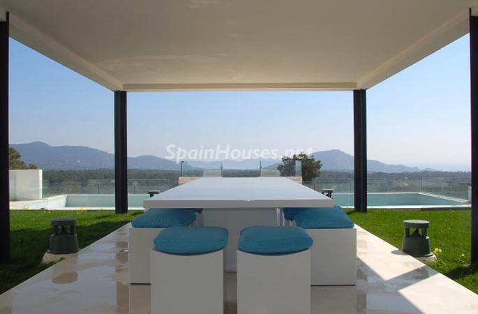 salonvistas - Moderna y espectacular villa diseño en Es Cubells (San José, Ibiza)