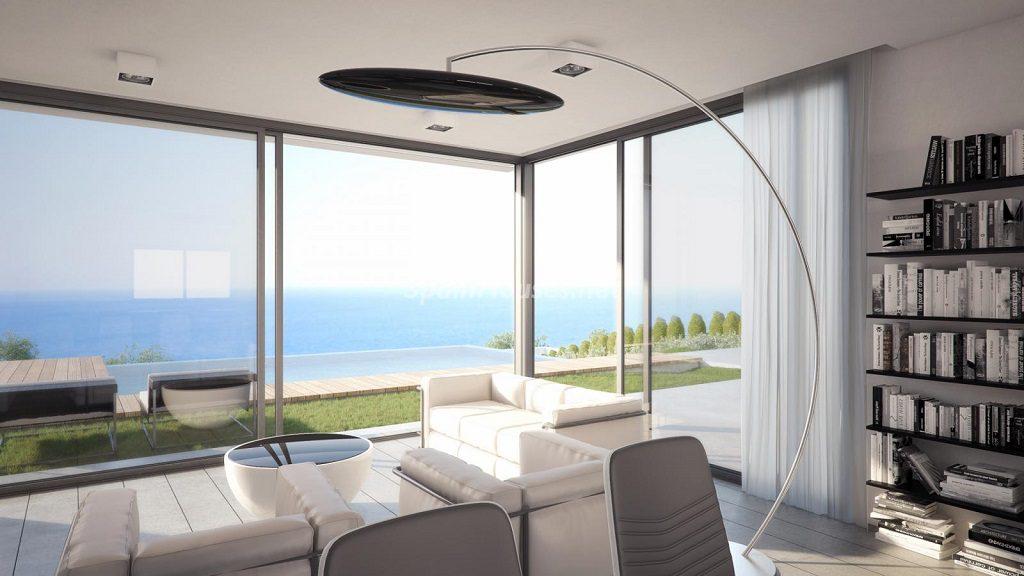 salonyvistas 5 1024x576 - Buena Vista Hills, 26 villas modernas con vistas al mar en Mijas (Costa del Sol, Málaga)
