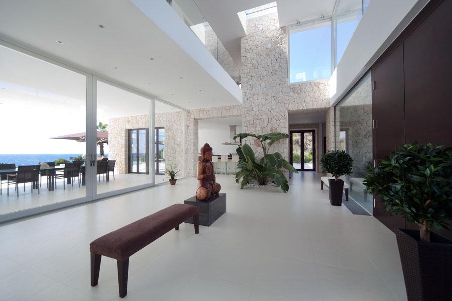 salonyvistas - Espectacular y luminosa casa de diseño frente al mar en Cala d'Or, Santanyí (Mallorca)
