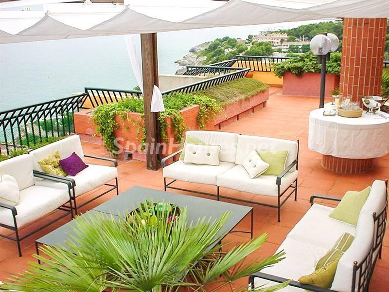 salou tarragona 1 - 17 espectaculares áticos con terrazas llenas de sol, luz, espacios relajantes y vistas al mar