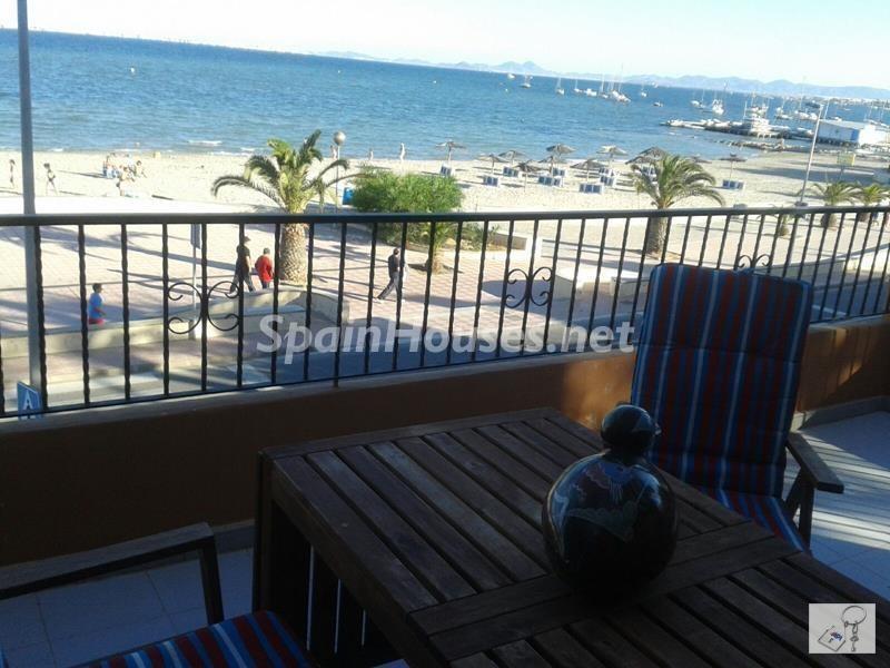sanjavier murcia 1 - Primera línea de playa: 14 bonitos apartamentos y pisos para disfrutar junto al mar