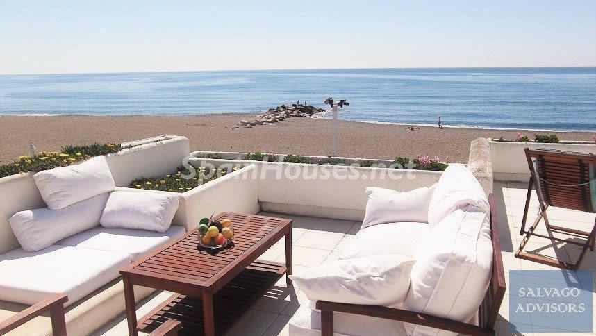 sanpedroalcantara malaga - 17 espectaculares áticos con terrazas llenas de sol, luz, espacios relajantes y vistas al mar