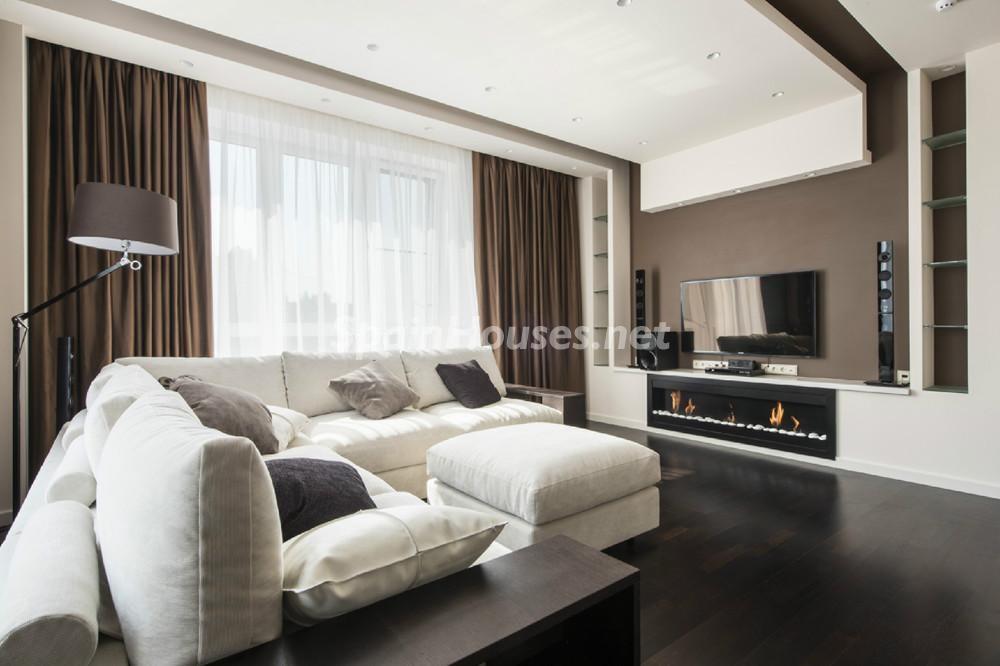 santgervasi barcelona - Calidez y chimeneas en 17 salones perfectos para disfrutar del invierno