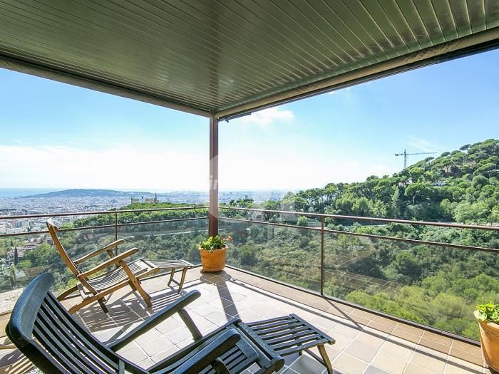 sarria sant gervasi barcelona - Áticos: espectaculares terrazas con un bonito toque urbano o fantásticas vistas al mar