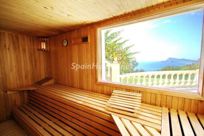 sauna - Casa de la Semana: Espectacular villa palaciega en Altea, Costa Blanca