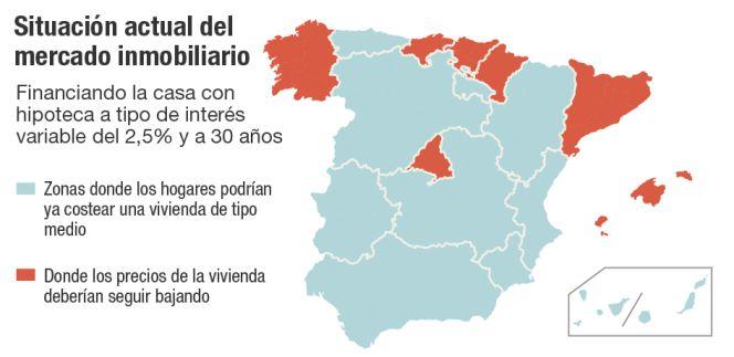 sociedad de tasacion 2015 - Vivienda: ¿Dónde se puede comprar y pagar una casa, y dónde aún no?