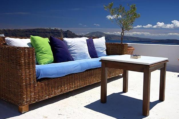 sofa terraza - Ideas para decorar una terraza fáciles y asequibles