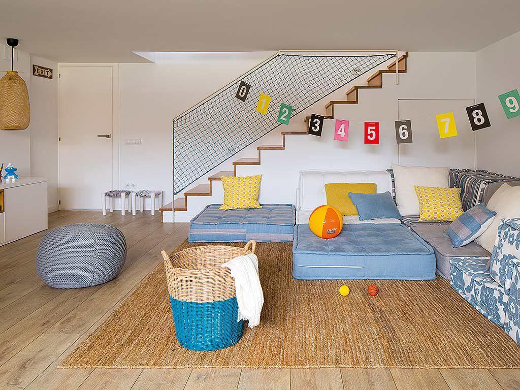 sotano 1 1024x768 - Una casa adosada luminosa y familiar frente al mar en Gavà (Barcelona)