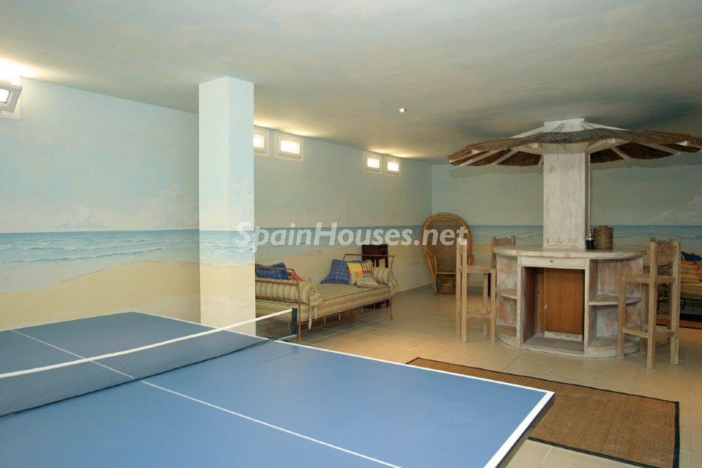 sotano 1024x682 - Toque natural y mediterráneo en una preciosa casa en El Playazo de Vera (Almería)