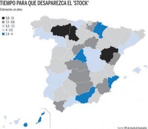 """stockvivienda acuña2 300x262 - Alicante, Madrid o Málaga tardarán menos de 4 años en vender su """"stock"""" de vivienda"""