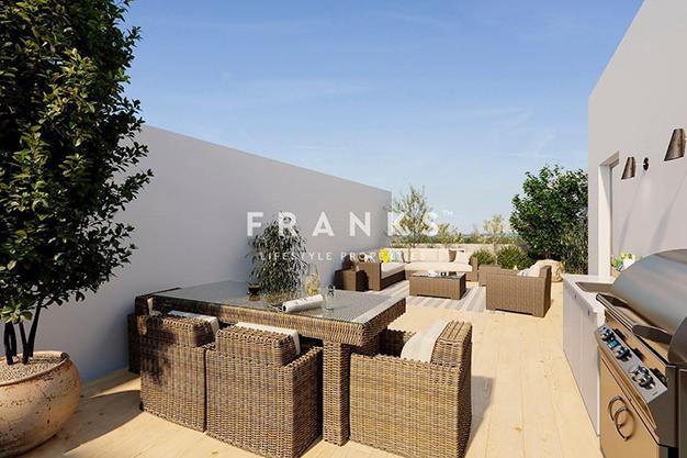 terraza 1 2 - Piso de lujo en Barcelona con piscina y jardín privado