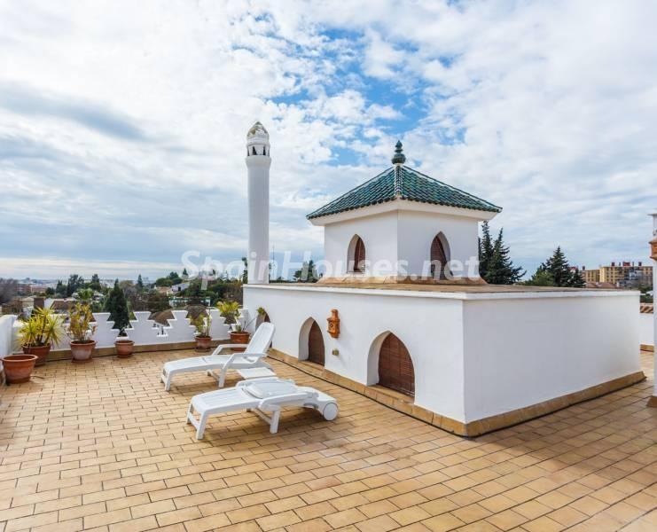 terraza 11 - Estilo mudéjar lleno de encanto en un espectacular chalet en el Aljarafe de Sevilla