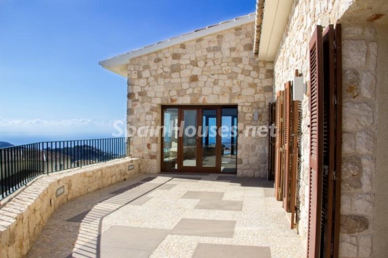 terraza 13 - Lujosa casa vestida de piedra en Benitachell (Costa Blanca) con vistas panorámicas al mar