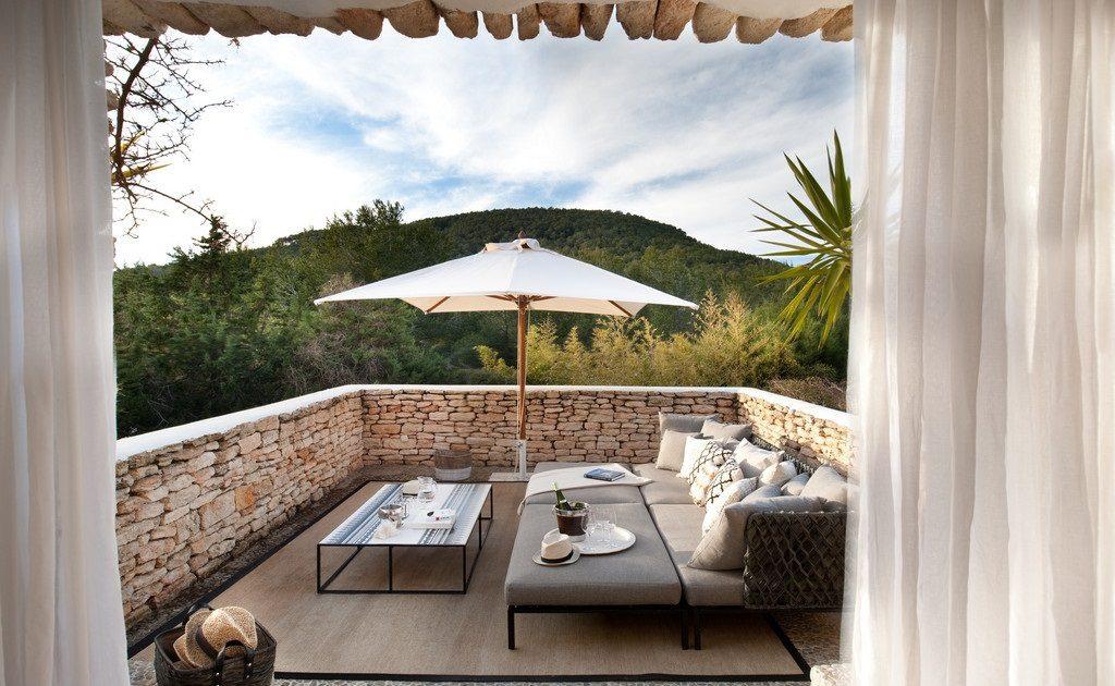 Casa Rústica Y Moderna En Ibiza Baleares Diseño