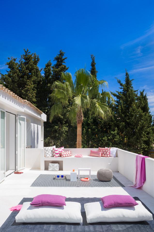 terraza 43 - Serenidad minimalista y mediterránea en una genial casa en Sotogrande (Cádiz)