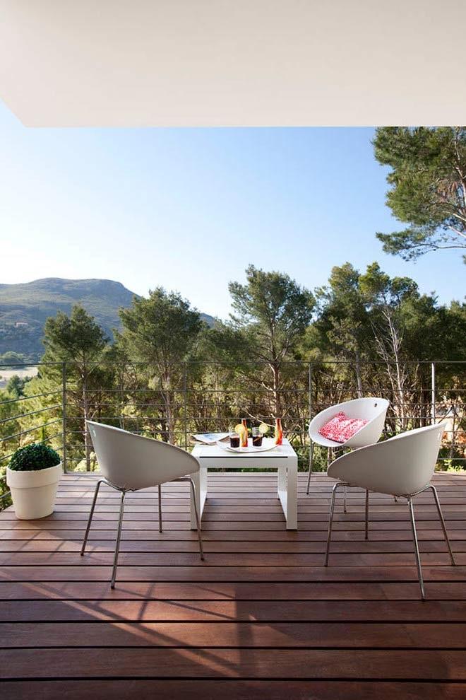 terraza 44 - Diseño modular y mediterráneo en una genial casa en Pollensa (Mallorca, Baleares)