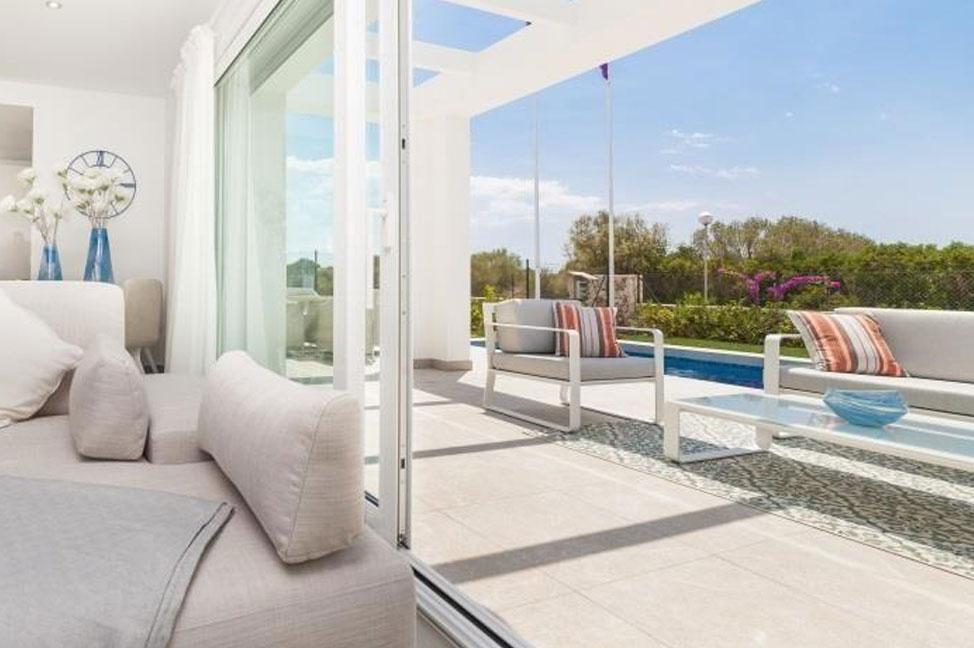 terraza 50 - Exclusiva casa en Mallorca a estrenar