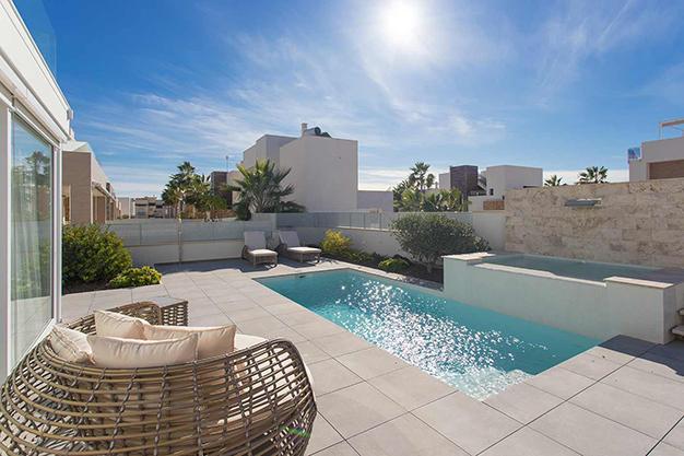 terraza alicante - Casa cerca de la playa en Alicante con calidades de lujo