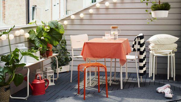 terraza exterior decoracion color 600x338 - La terraza perfecta sin importar el tamaño