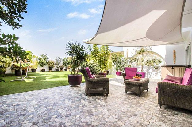 terraza las palmas - Excepcional villa con terrazas en Las Palmas: increíbles vistas al mar hasta el Teide