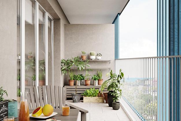 terraza mallorca - Oportunidad de inversión: exclusivo piso con piscina en Mallorca