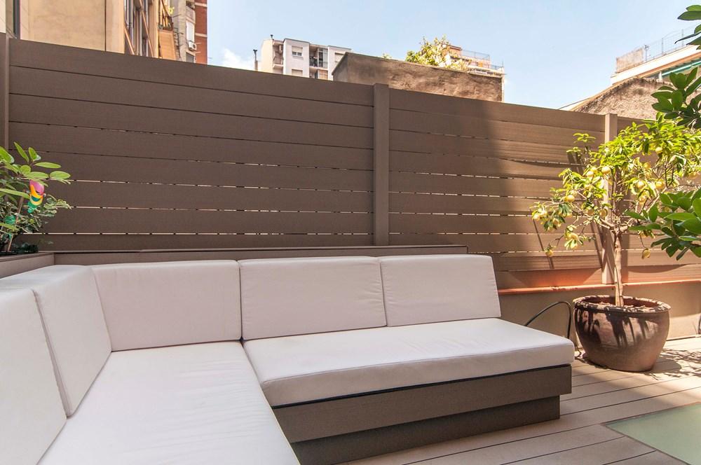 terraza1 6 - Piso modernista en el Eixample (Barcelona): fusión espectacular de luz y elegancia