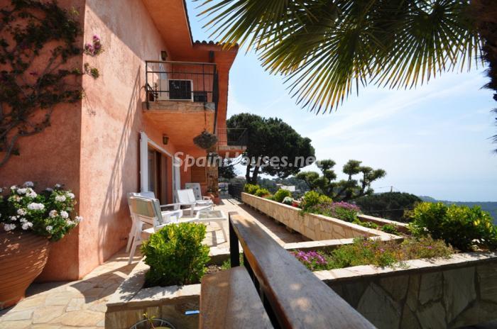 terraza1 - Casa de la Semana: Preciosa Villa en Lloret de Mar, Costa Brava