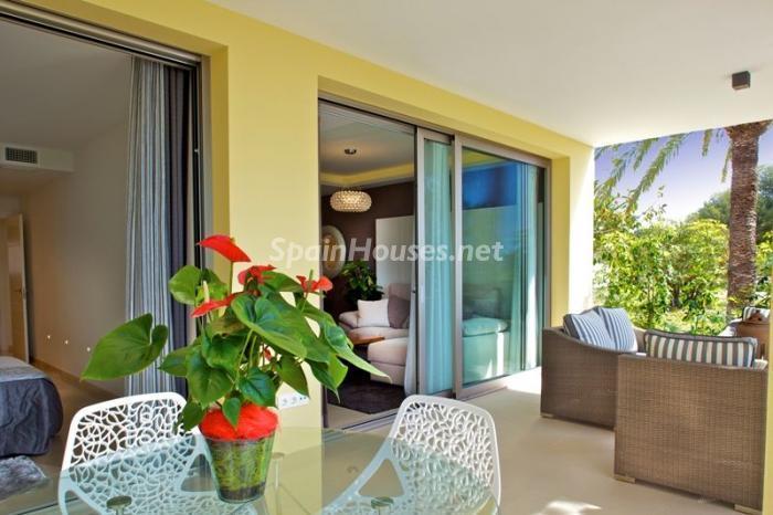 terraza10 - Casa de la Semana: Fantástico piso a estrenar en playa Paraíso, Villajoyosa (Costa Blanca)