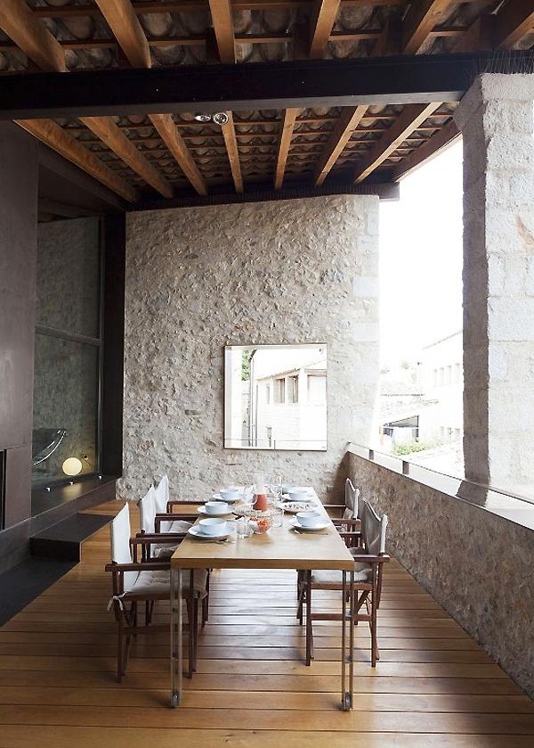terraza119 - Encanto en el Barri Vell de Girona, lo antiguo y lo moderno fundidos a la perfección
