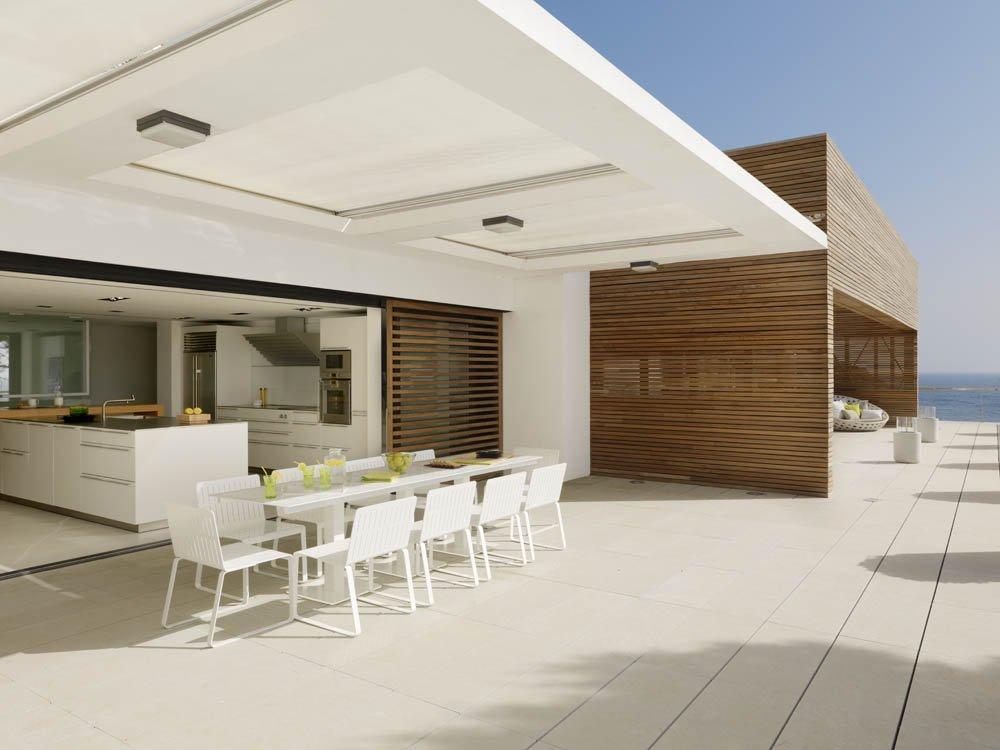 terraza125 - Puro blanco sobre el mar en una espectacular casa en Almuñécar (Costa Tropical, Granada)