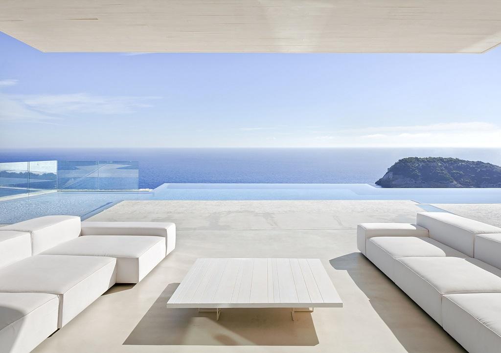 terraza127 - Casa Sardinera, Jávea (Costa Blanca): diseño imponente y liviano frente al mar