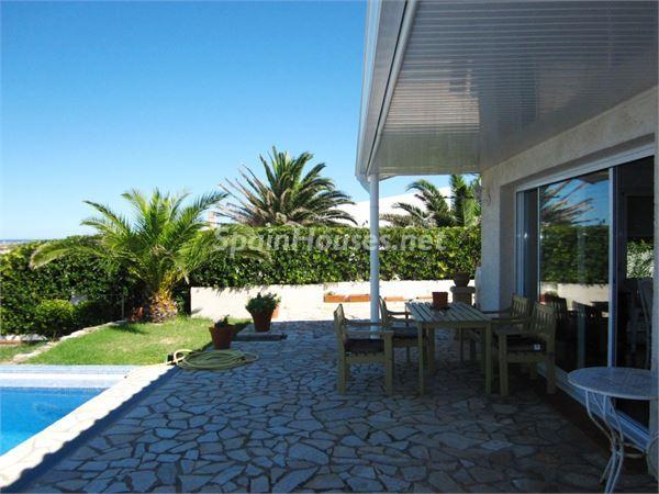 terraza17 - Casa de la Semana: Preciosa villa en alquiler de vacaciones en El Port de la Selva (Girona)