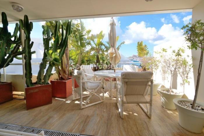 terraza18 - Casa de la Semana: Precioso ático de lujo en Marina Botafoch, Ibiza