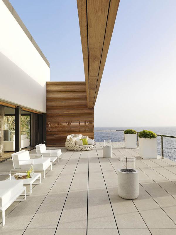terraza212 - Puro blanco sobre el mar en una espectacular casa en Almuñécar (Costa Tropical, Granada)