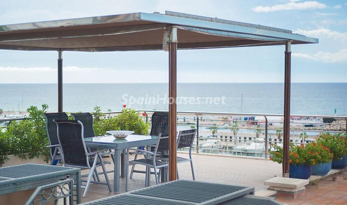 terraza214 - Elegancia, espacio y luz en una fantástica casa en Port d'Aiguadolç, Sitges (Barcelona)