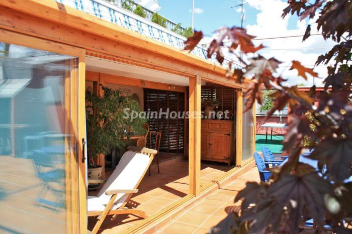 terraza22 - Casa de la Semana: Fantástico ático en Madrid, un oasis sobre los edificios de Chamartín