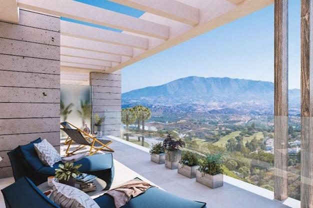 terraza3 6 - Ático de lujo en Mallorca: moderno, minimalista y de alto diseño