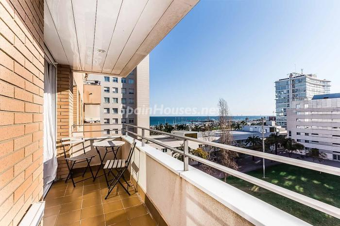 terraza37 - Luminoso y acogedor dúplex en alquiler en Diagonal Mar, Barcelona