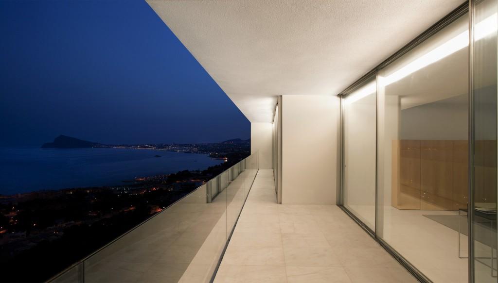 Nocturna - Vistas desde la terraza