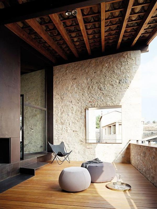 terraza41 - Encanto en el Barri Vell de Girona, lo antiguo y lo moderno fundidos a la perfección