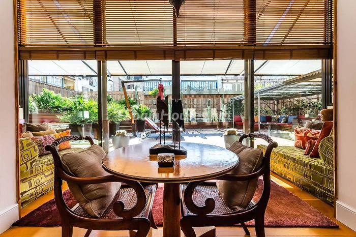 terraza47 - Precioso piso lleno de detalles, elegancia y lujo en el Eixample de Barcelona