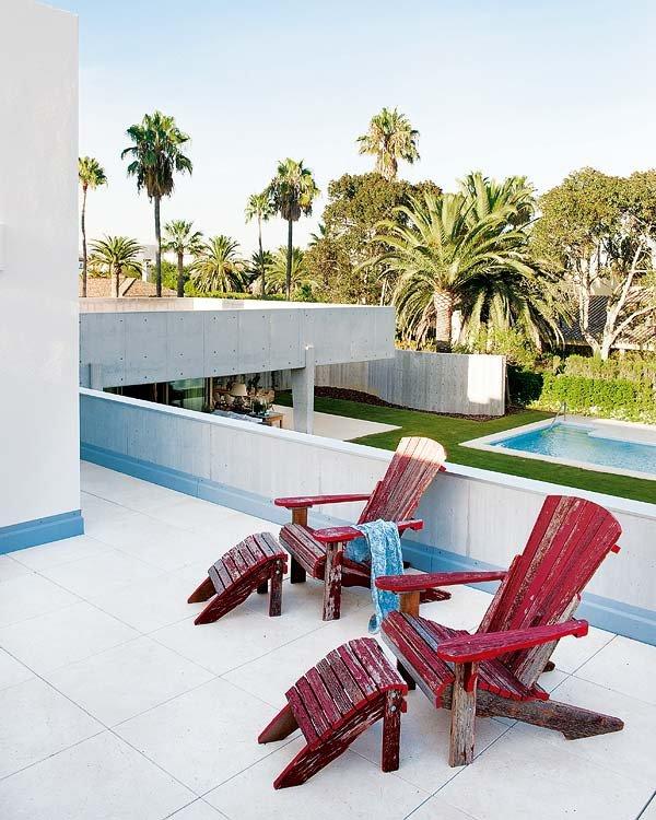 terraza52 - Toques de azul turquesa en una genial casa en Sotogrande (Costa de la Luz, Cádiz)