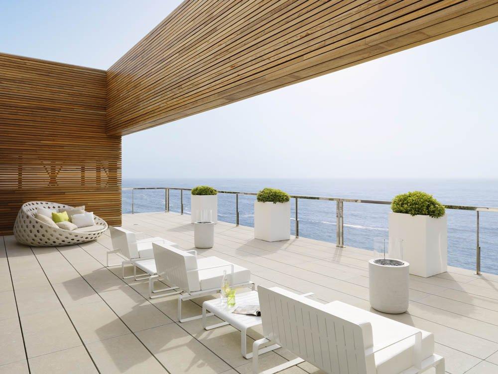 terraza55 - Puro blanco sobre el mar en una espectacular casa en Almuñécar (Costa Tropical, Granada)