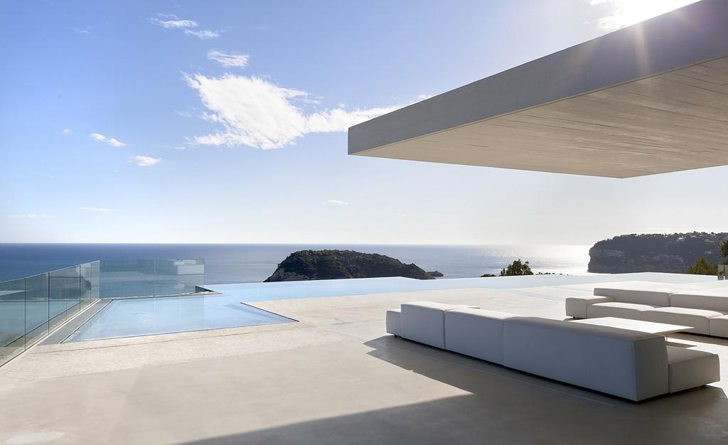 terraza59 - Casa Sardinera, Jávea (Costa Blanca): diseño imponente y liviano frente al mar