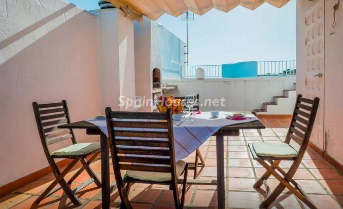 terraza69 - Luz, sol y mar en un precioso chalet en alquiler en Benajarafe (Costa del Sol, Málaga)