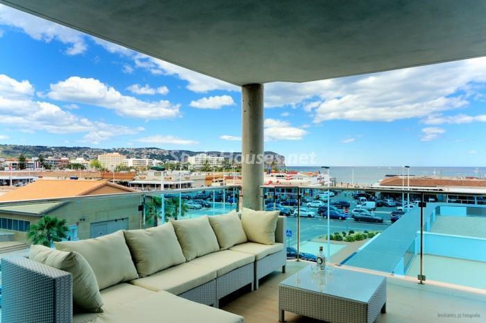 terraza8 - Casa de la Semana: Fantástico apartamento en Jávea, Costa Blanca (Alicante)