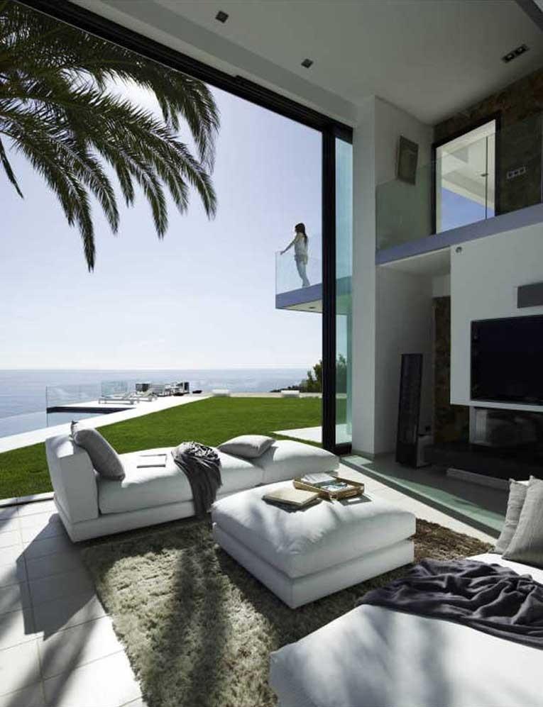 terrazayporche - Diseño en el acantilado en una fantástica casa en Tossa de mar (Costa Brava, Girona)