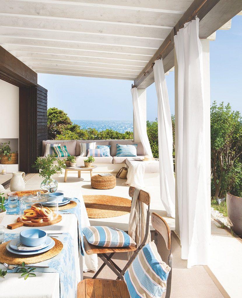 terrazayvistas 11 830x1024 - Fantástica casa junto al mar en Menorca (Baleares) abierta al Mediterráneo