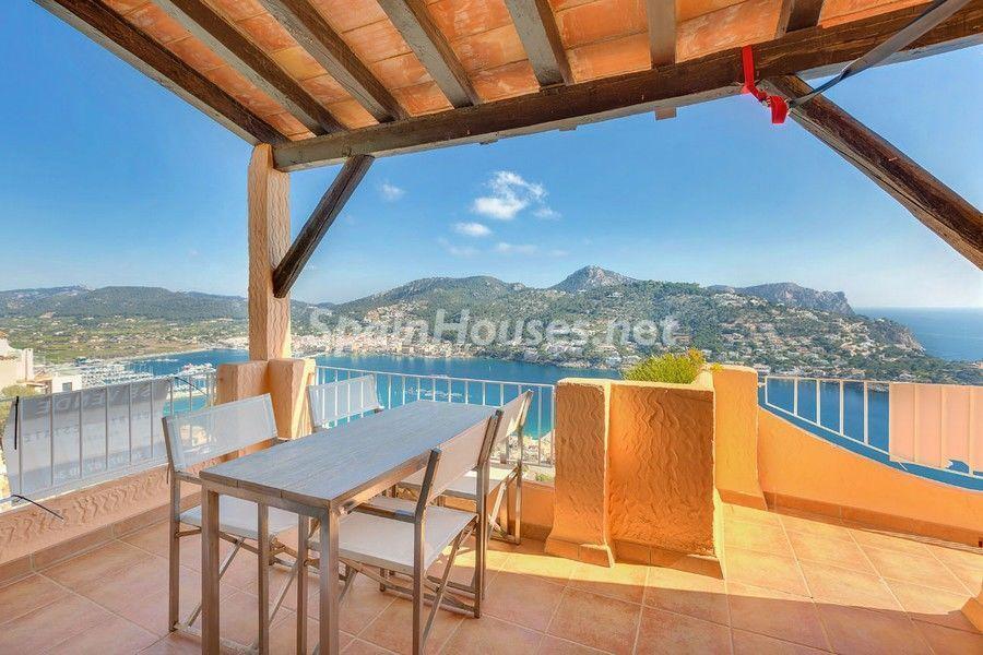 terrazayvistas 9 - Terraza de sol y geniales vistas al mar en Puerto de Andratx, Mallorca (Baleares)