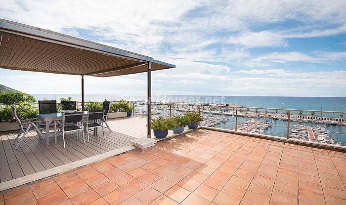 terrazayvistas12 - Elegancia, espacio y luz en una fantástica casa en Port d'Aiguadolç, Sitges (Barcelona)